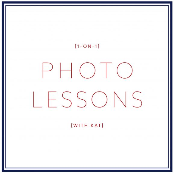 PHOTO LESSONS